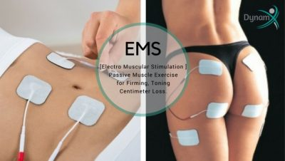 EMS Electro Muscular Stimulation Therapy